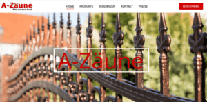A-Zäune