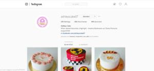 Ashley's Cake – Social Media