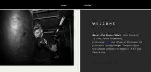 Dennis Dauti – Webseite