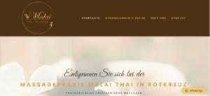 Malai Thai – Webseite & Social Media Werbung & Grafikdesign