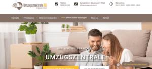 Umzugszentrale – Webseite & Google Werbung