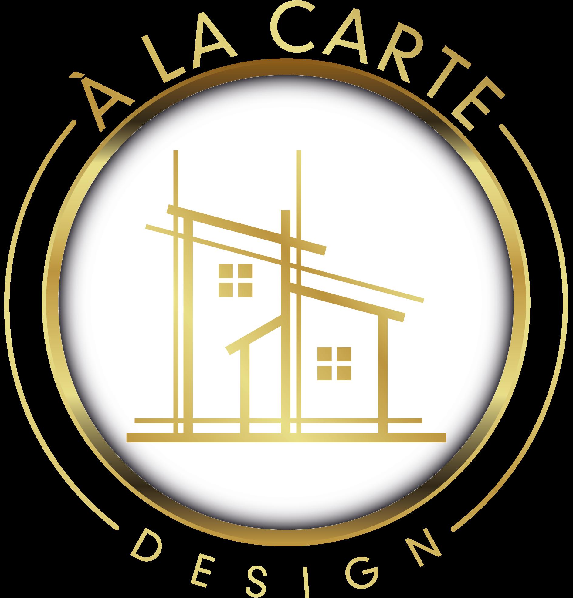 a╠C la carte Logo Design